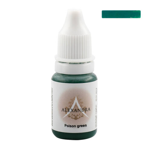 POISON GREEN ALEXANDRA PIGMENT - 5ml