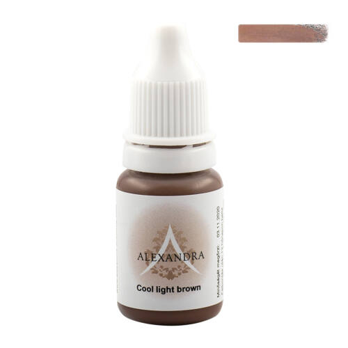 COOL LIGHT BROWN ALEXANDRA PIGMENT - 10ml